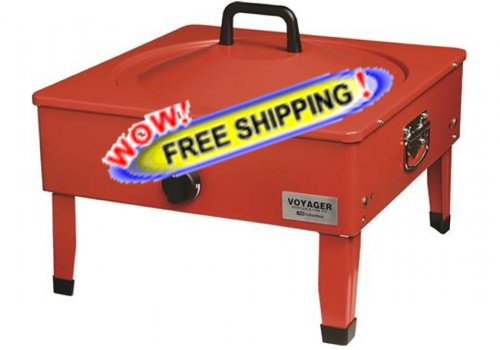 Voyager Portable Fire Pit 3033A - Free Shipping