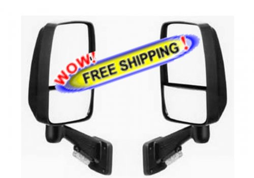 Ramco Mirror Set 9000 Series in Black with TS, RAMCO 9000CCT - Free Shipping