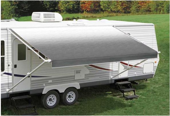 RV Awning Replacement Fabric : Silver Fade Replacement ...