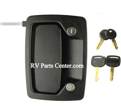 Rv Entry Door Locks By Trimark Tri Mark Exterior Paddle Lock Only