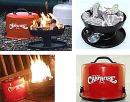 Camco Little Red Portable Campfire Rv Parts Center