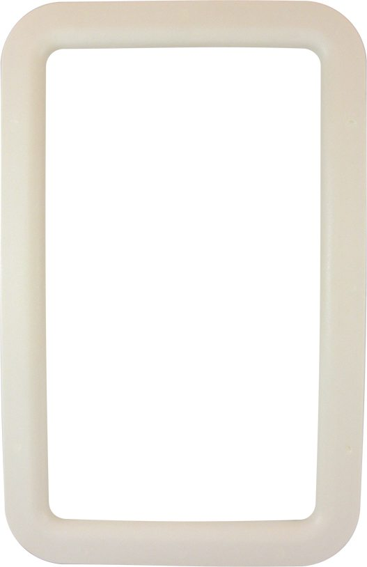 Exterior Entry Door Window Frame - Ivory, OP Products 77007