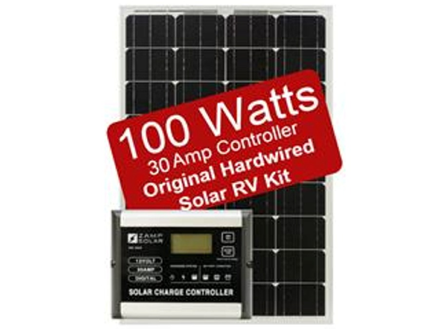100 Watt RV Solar Panel Kit, Zamp Solar ZS-US-100-30A-DX