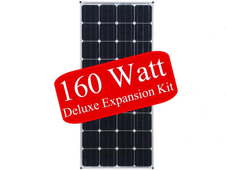 160 Watt RV Solar Panel Expansion Kit, Zamp Solar ZS-US-160-30A-DX