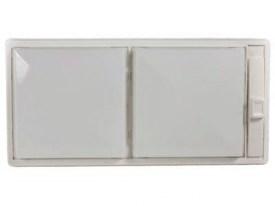 RV Trailer Euro-Style Interior Light Single White Gustafson Lighting AM4003