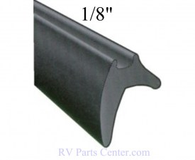 Window Seals : Hehr 1/8 Glazing Bead, 10 Foot, Black